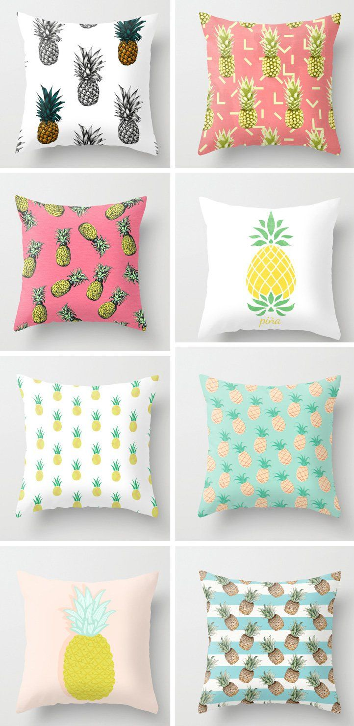 Hello friends and happy Saturday to you all! I've decided to go back to producing my random trend posts based on what I see online and during my travels locally. So let's talk about a trendy little motif that you'll see dotted about in the fashion and interiors world right now, particularly in parts of the world where it's summer. PINEAPPLES!