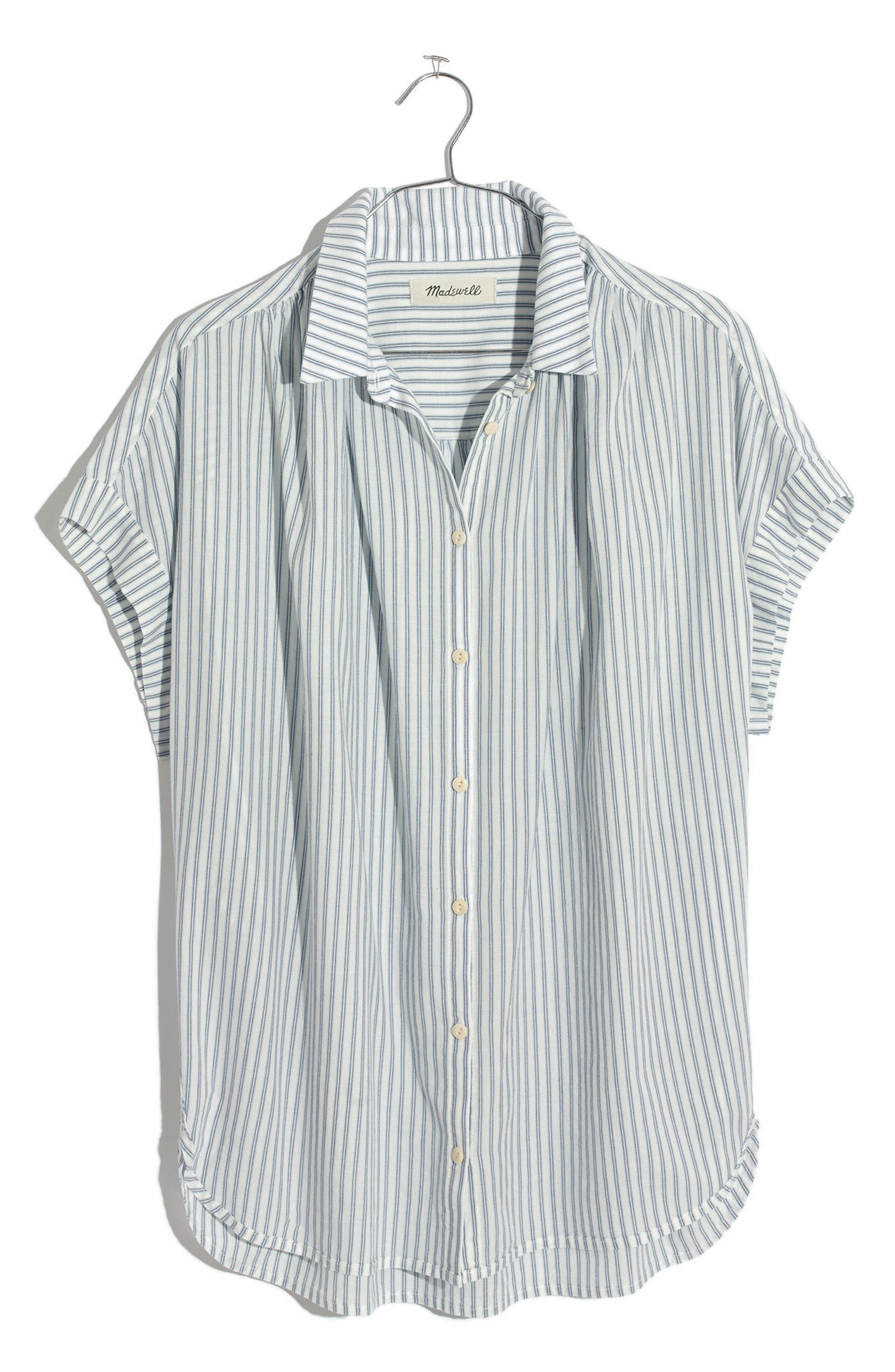 20cff4fa9a3d Central Stripe Shirt. Short Sleeve Striped ...