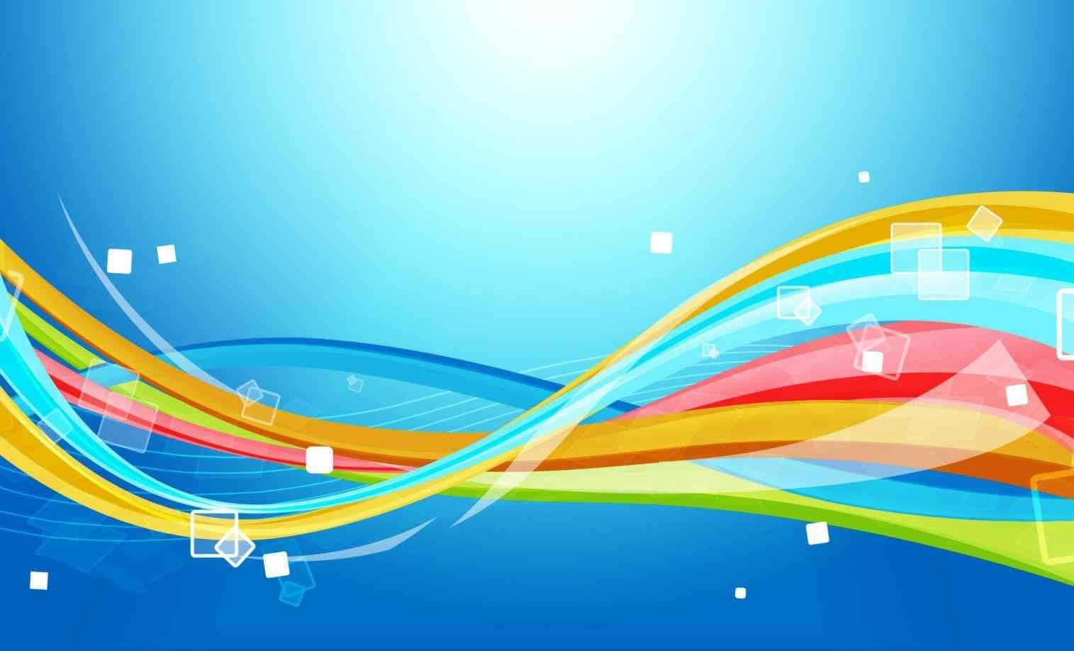 Colorful Flex Banner Background Design Lines Abstract Wallpaper
