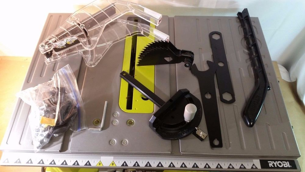 Ryobi Rts10g 120v 15 Amp 10 Table Saw 01242017 131 Table Saw Ryobi Used Tools For Sale
