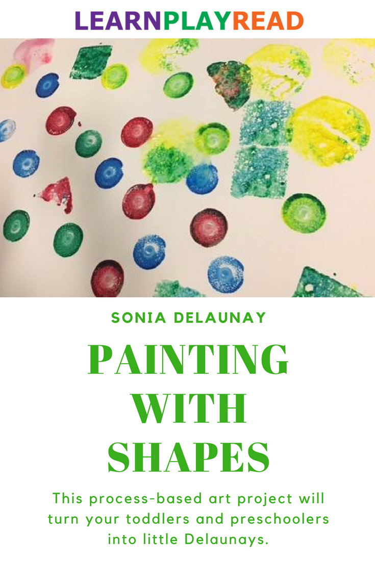 Practicing Shapes and Colors with Sonia Delaunay | Sonia delaunay ...