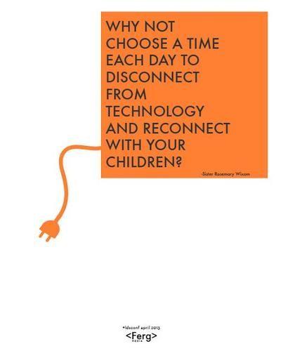 Disconnect #lds #quote #technology #dalton