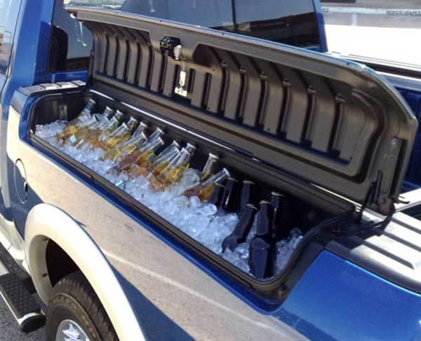 Was This Vehicle Was Specifically Made For Tailgating The Rambox Offers Space For Up To 260 12 Ounce Cans Dodge Ram 1500 Rambox Ram 1500 Truck Accessories