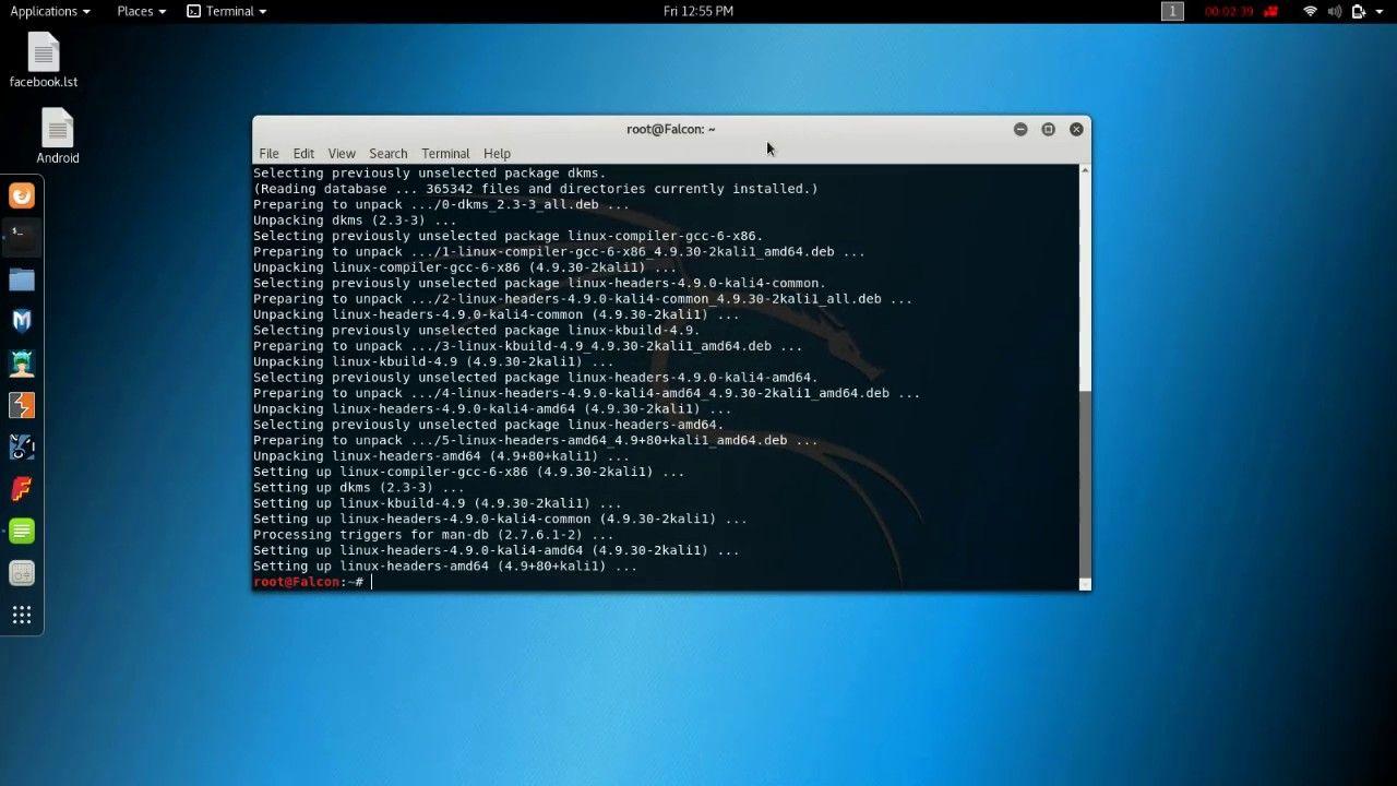 Кали линукс установить тор браузер hydra тор браузер инструкция hyrda