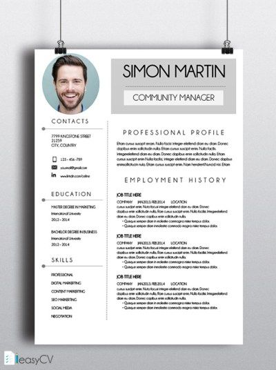 It was never so easy to make a CV Discover our MS Word friendly - is a cv the same as a resume