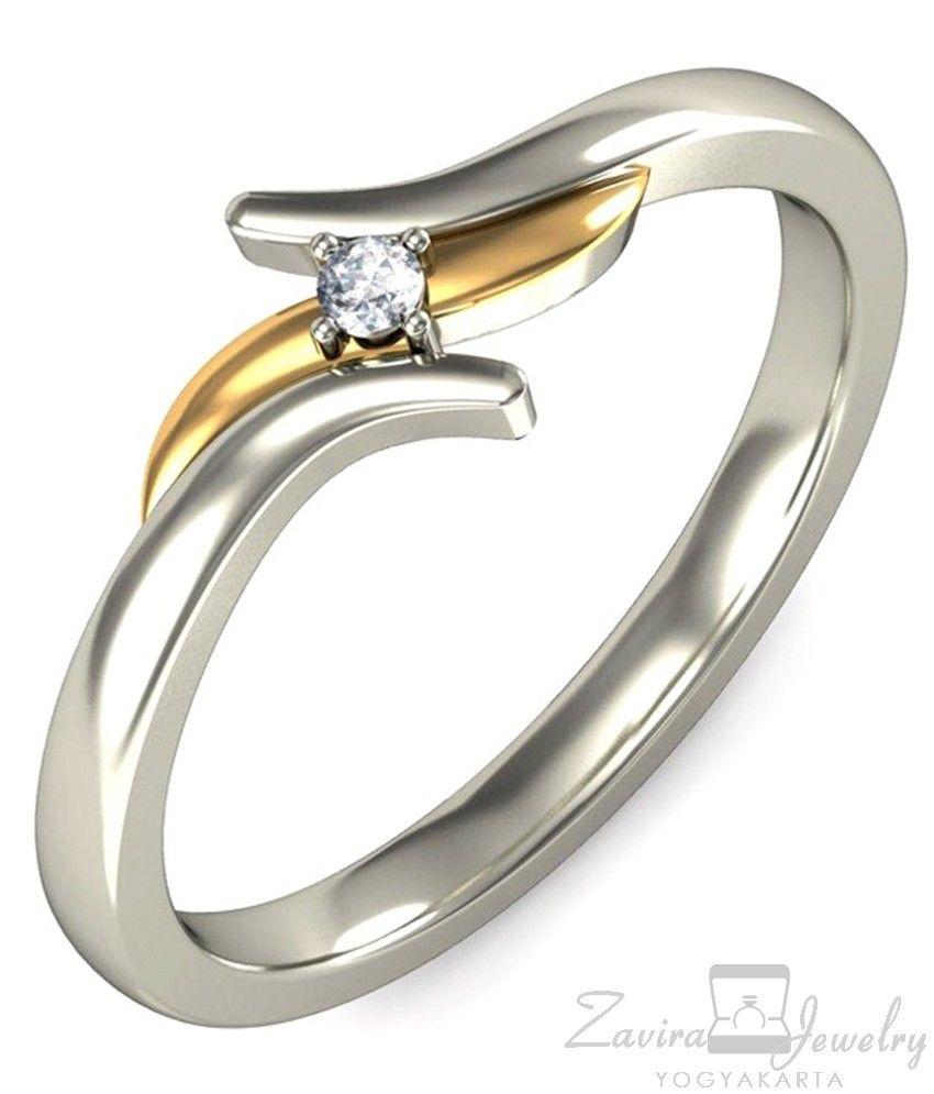 Spesifikasi Logam Emas 75 Untuk Wanita Berat Per Cincin Estimasi 5 Satu Set Jewelry Tunangan Kawin Pernikahan Berlian Wedding Round Gram Tergantung Ukuran Jari Jumlah 1 Permata Zircon Premium Pemasangan