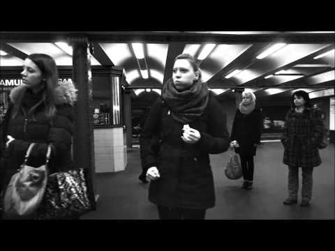 This clip contains 3 arrivals of Subway U2 to Alexanderplatz  It