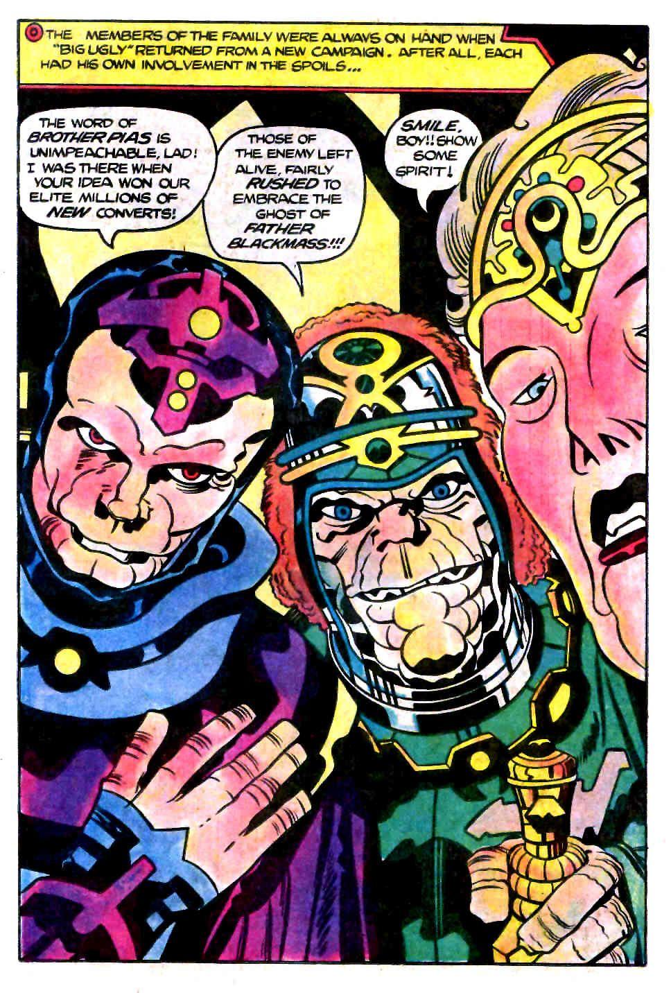 Jack Kirby Black Mass | Jack Kirby | Jack kirby, Comic books, Black mass