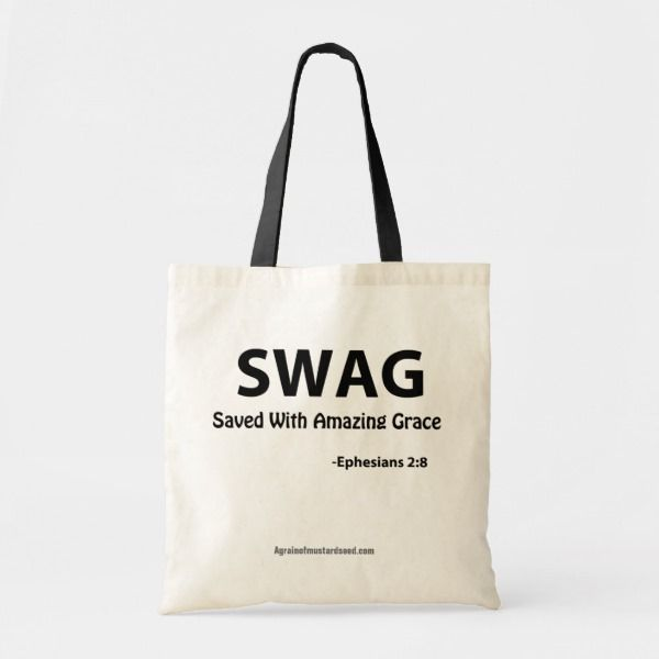 Christian Quotes Tote Bag | Zazzle.com