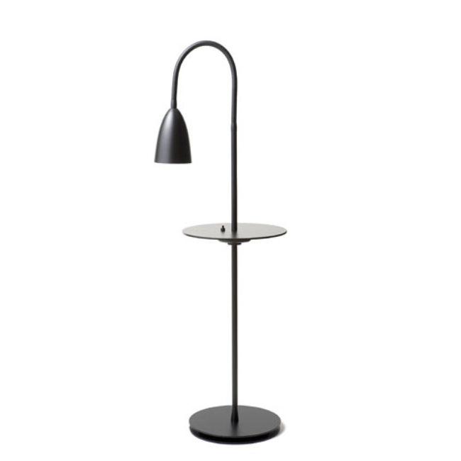Arkipelag golvlampa med bord Svart matt danskdesign nu
