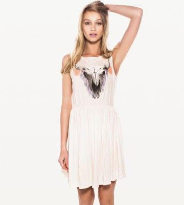 Dance barefoot this summer in this Wildfox dress. #getzesty