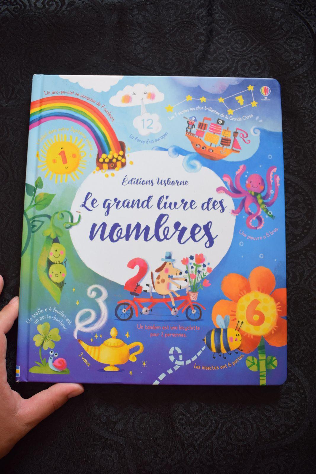 Un Super Livre Pour Decouvrir Les Nombres Usborne Enfant Bebe Loisir Livre Livre Enfant Nombre