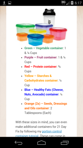 Anyone Know The Sizes Of The 21 Day Fix Containers Yahoo Answers
