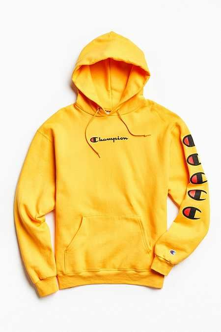 96b0f4a3ff4d Champion Repeat Eco Hoodie Sweatshirt - Urban Outfitters