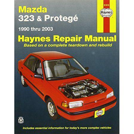 Haynes Manuals 61015 Mazda 323 Proteg 90 00 Walmart Com In 2020 Repair Manuals Mazda Small Family Car