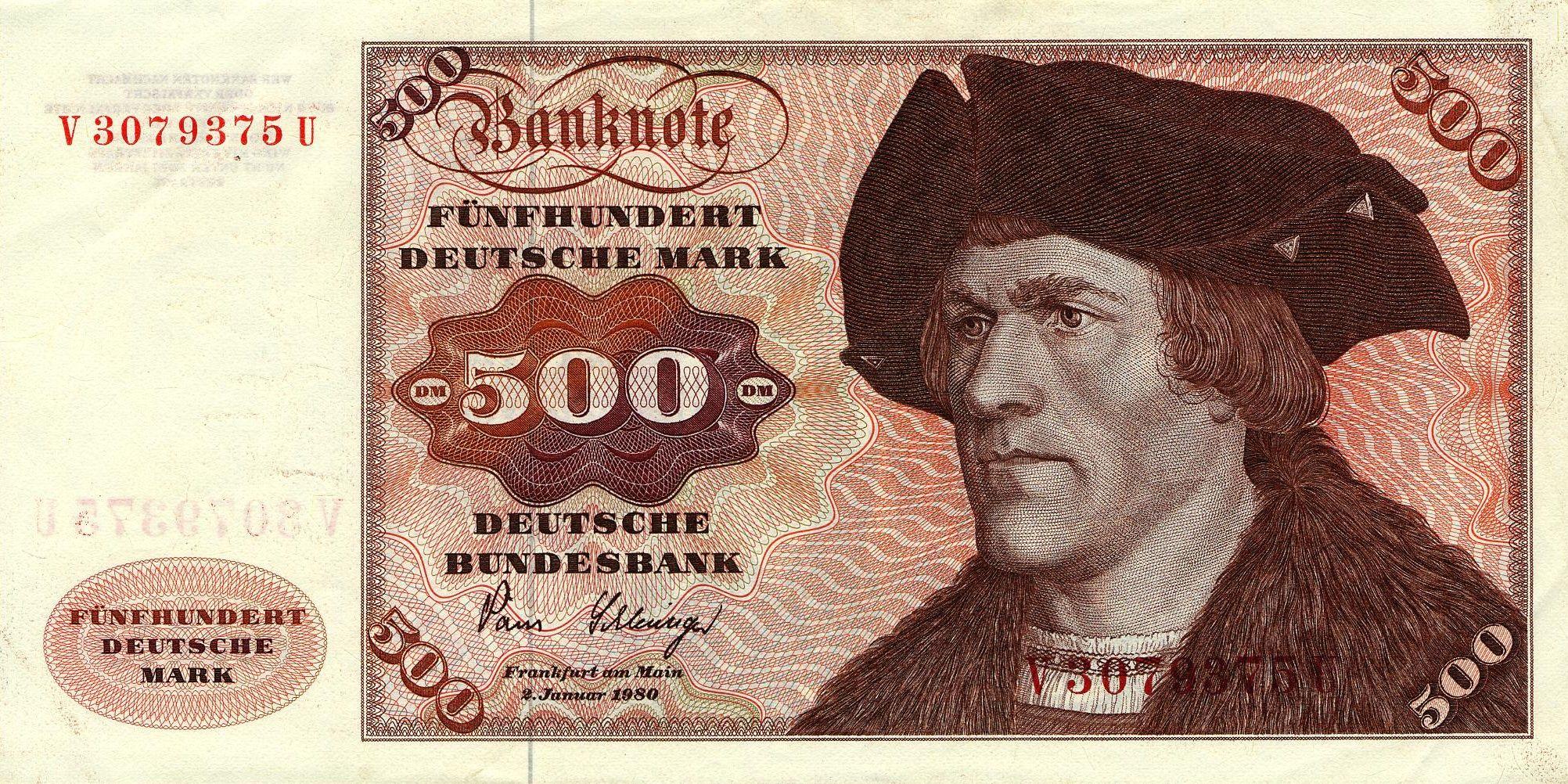 Deutsche Mark Altes geld, Deutsche mark, Note