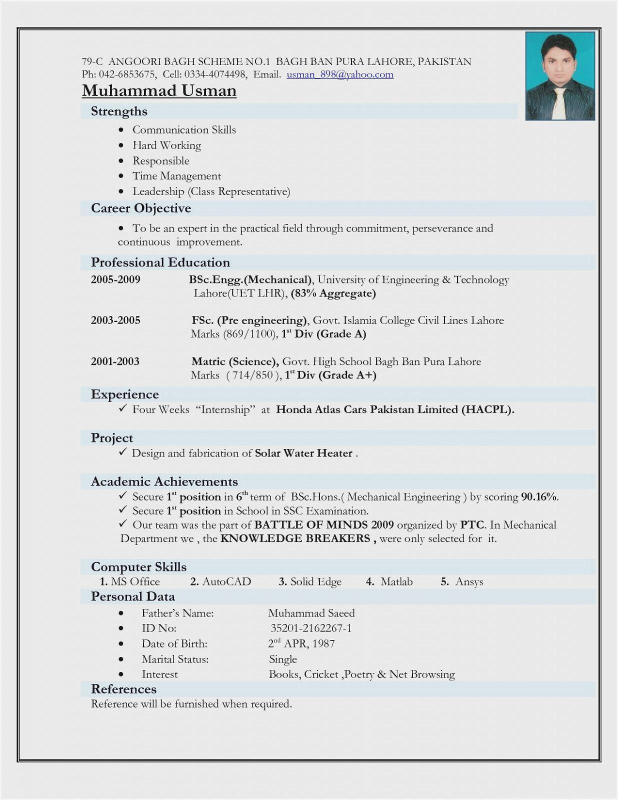 12 Engineer Resume Template Doc Job Resume Format Mechanical Engineer Resume Resume Format For Freshers
