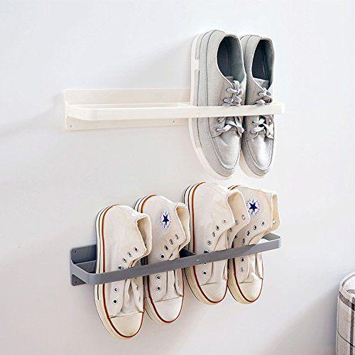 Esdella Shoes Rack Organizer Mounted Wall Storage