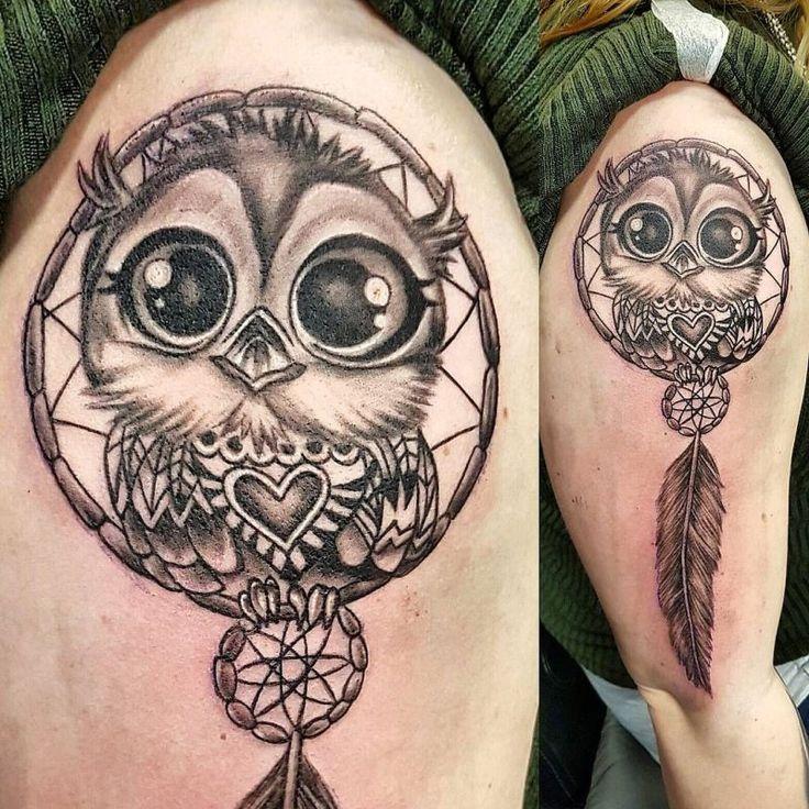 Bildergebnis Fur Girly Owl Tattoos Baby Owl Tattoos Owl Tattoo Design Tattoos