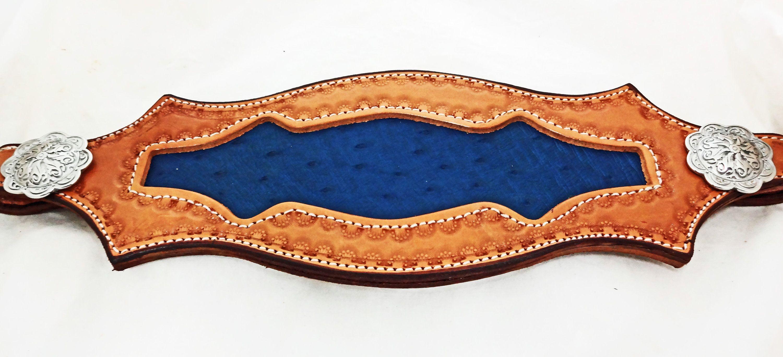 Bronc Halter Leather Noseband Black Jeremiah Watt Conchos Horse West Coast Tack Custom