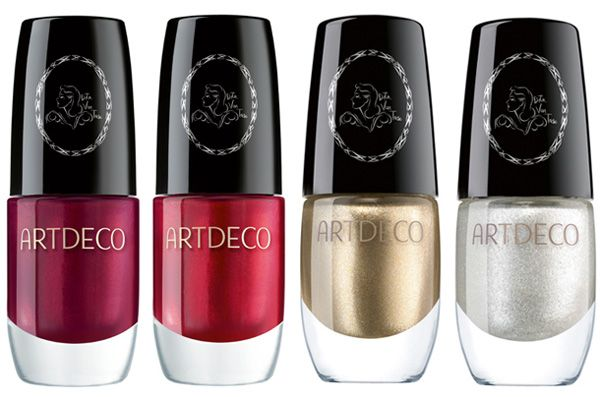 Artdeco Holiday 2012 Dita von Teese Golden Vintage Collection