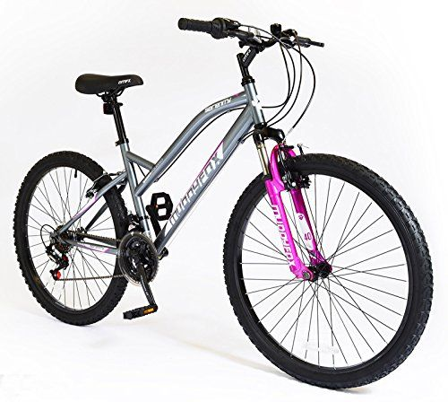 New Ladies/Womens Grey Muddyfox Serenity Mountain Bicycles - Grey ...