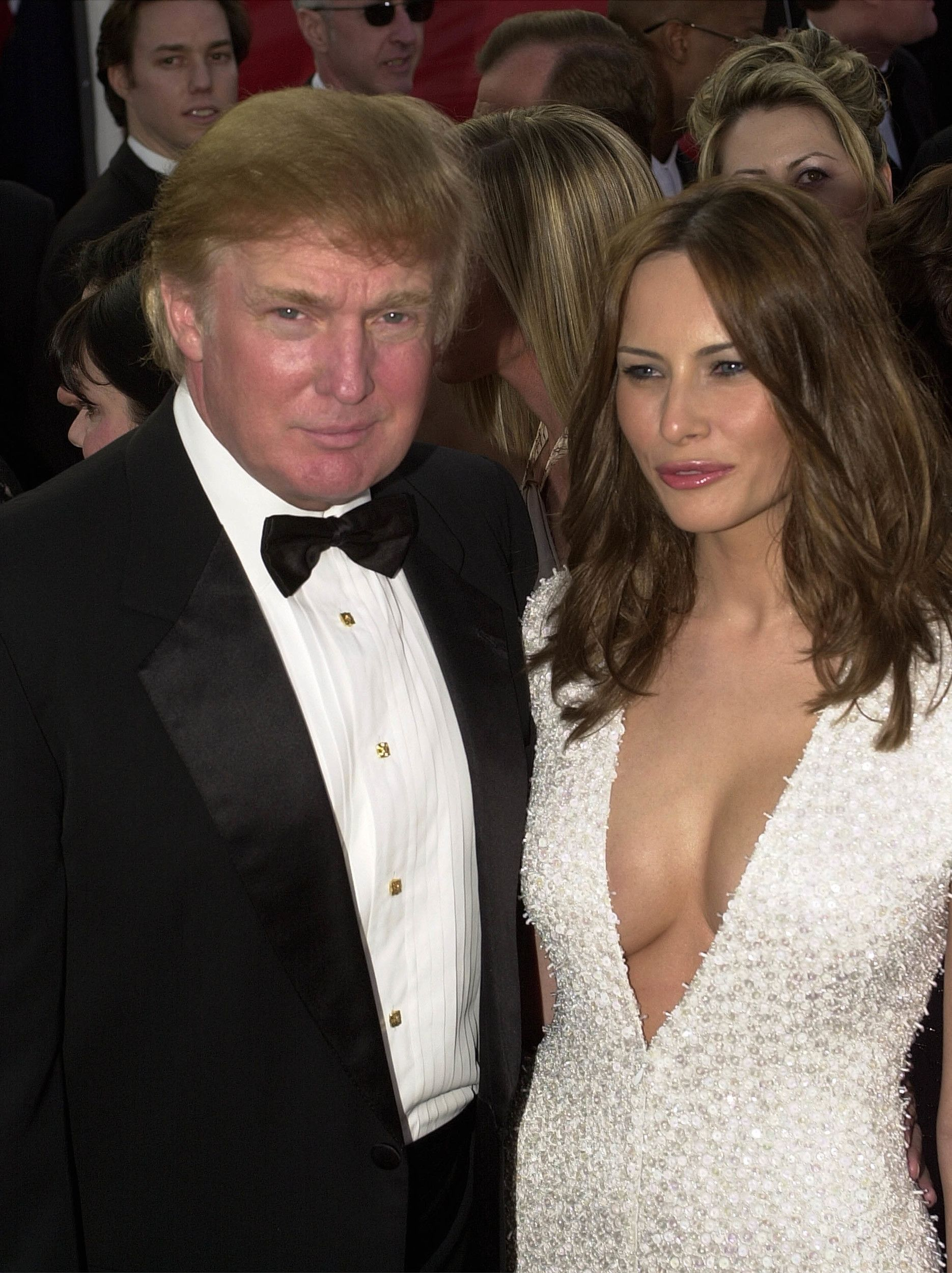 Old Nude Photos Put Melania Trump Under Spotlight She Didn