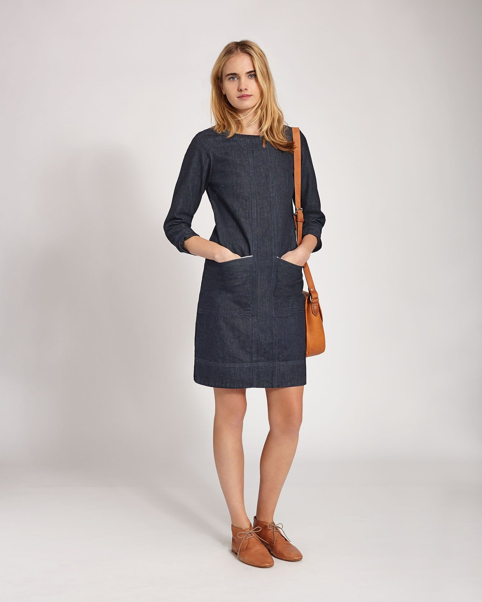 Womenus Hiro Denim Dress in Denim  TOAST  DENIM  Pinterest