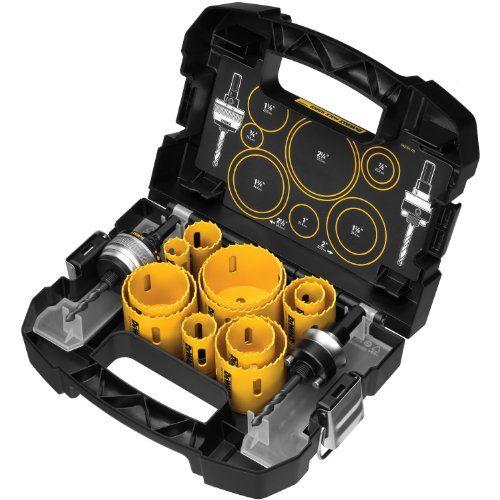 Dewalt D180005 14 Piece Master Hole Saw Kit Dewalt Tools Dewalt Power Tools Hole Saw