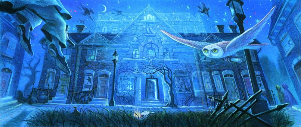 Harry Potter Phoenix Special Edition Grimmauld  Mary GrandPre SIGNED Bookcover Giclee on CANVAS Ltd Ed of 50 AP