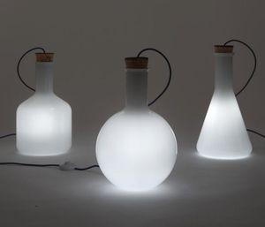 理科の実験道具で照明をDIY