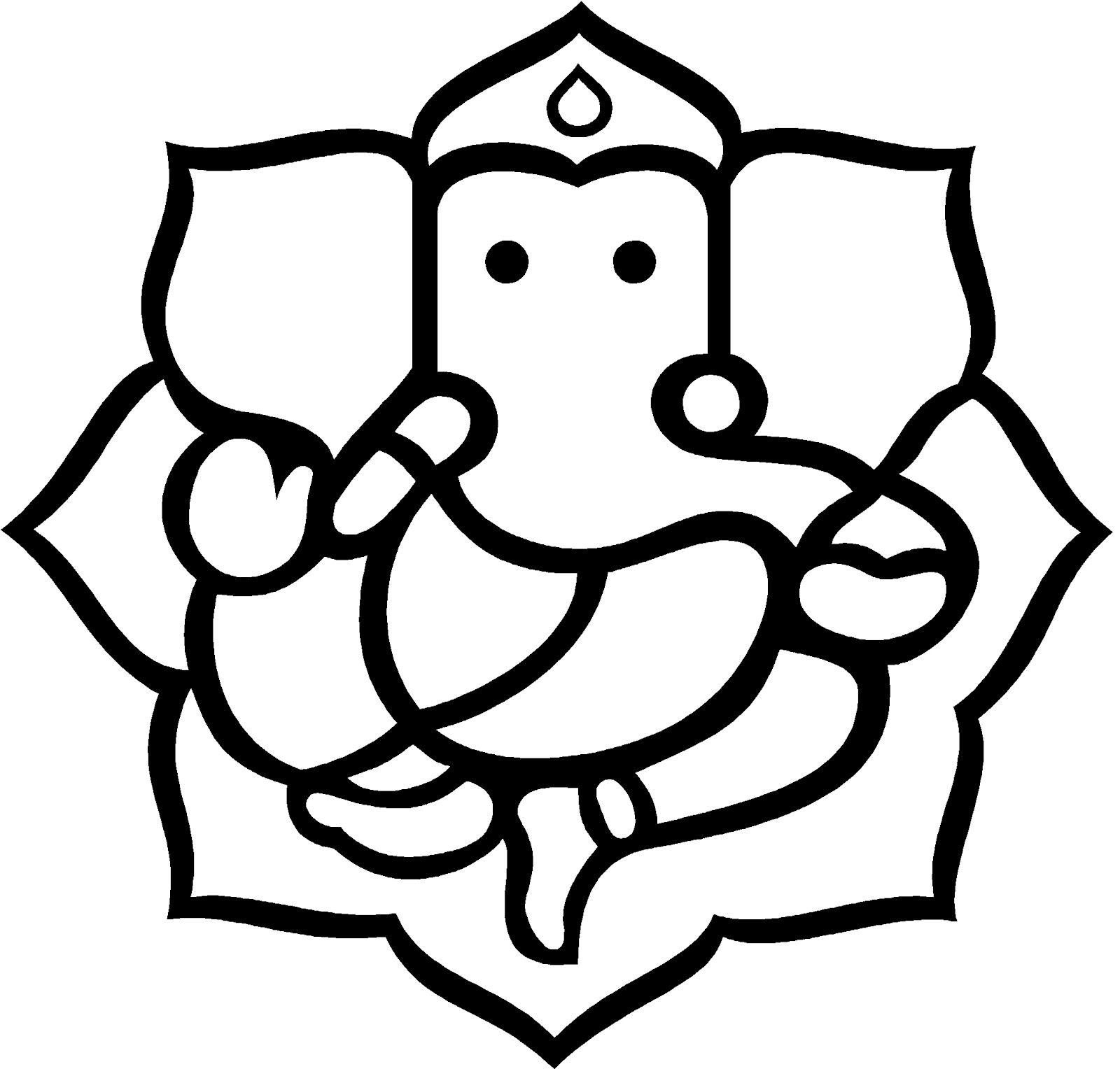 Ganesh Vector Clipart Best Art Lord Ganesha Paintings Elephant Clip Art