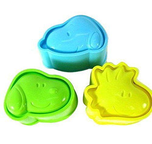 3pcs A Set Rice Egg Mooncake Mould Model Tools Diy Expression Seal
