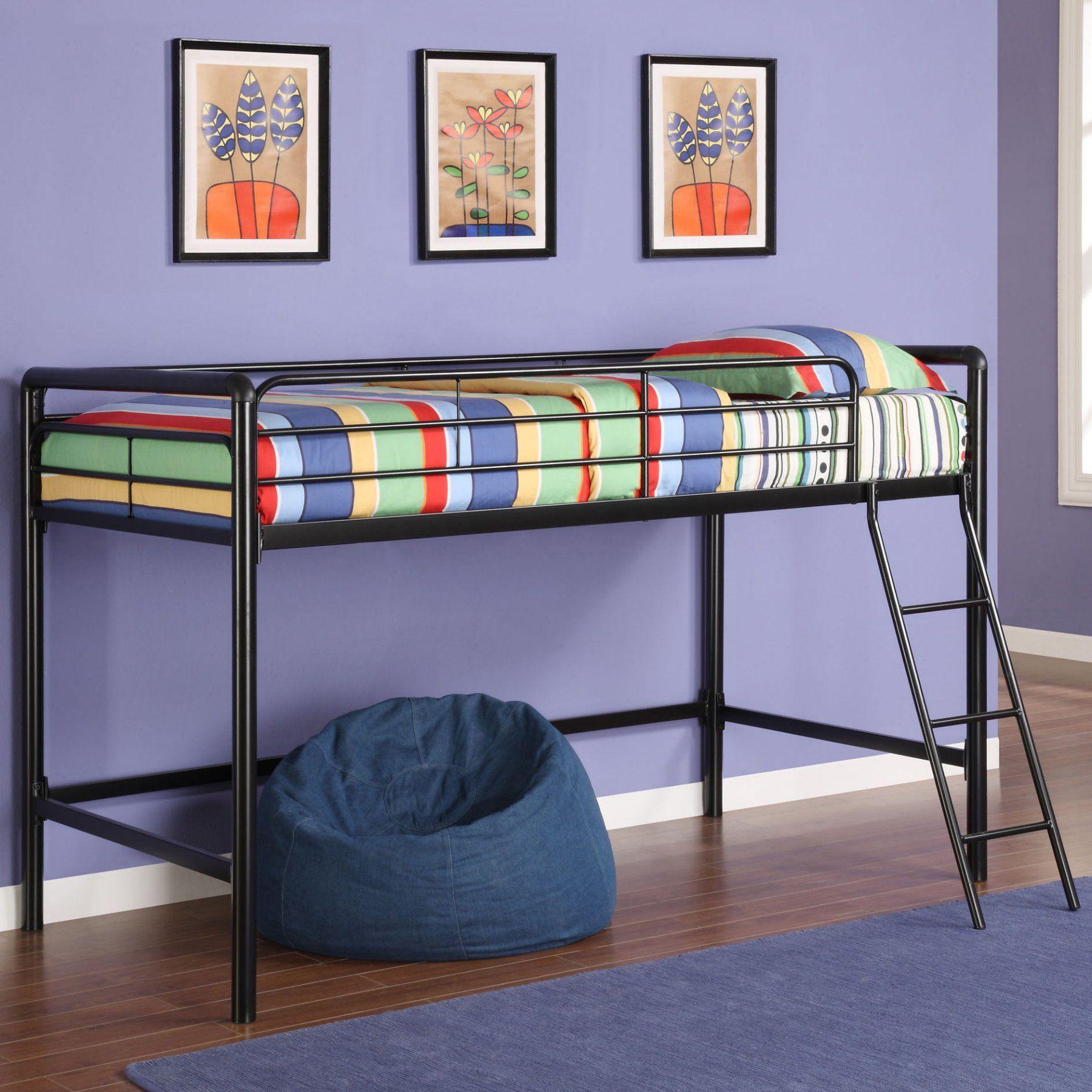 Junior loft bed ideas  DHP Braston Junior Loft Bed    Pinterest  Products