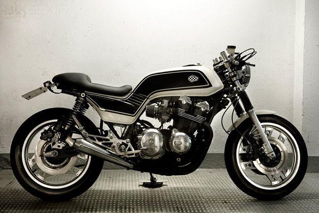 Honda Cb750f Super Sport Cb900f Cb1100f Custom Cafe Racer Motorcycle