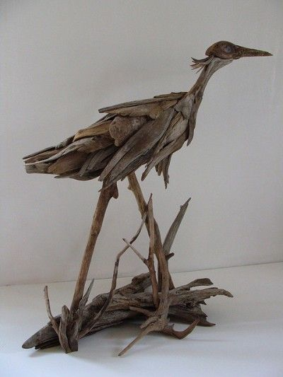 Vincent richel s driftwood sculptures creation