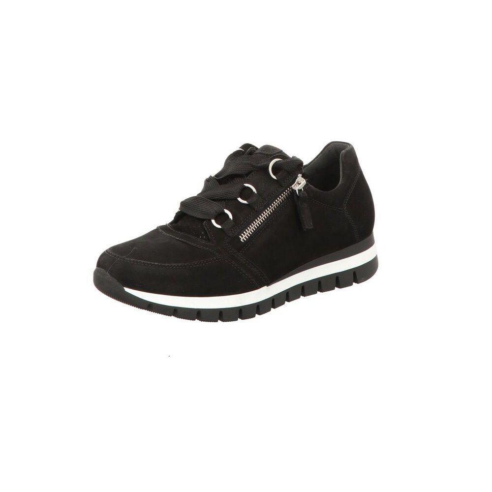 GABOR Sneakers Damen, Schwarz Weiß, Größe 42.5 | Gabor