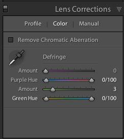 New De-Fringe tool in Lightroom 4.1