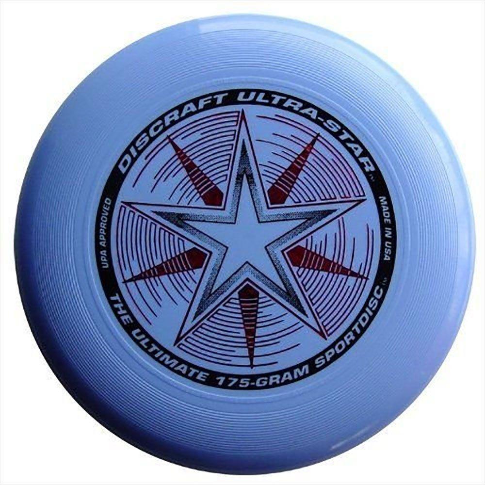 Discraft 175 gram ultra star sport disc light blue 542