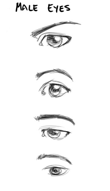 Male Eyes By Captscott On Deviantart Anime Eye Drawing Anime Drawings Tutorials Guy Drawing