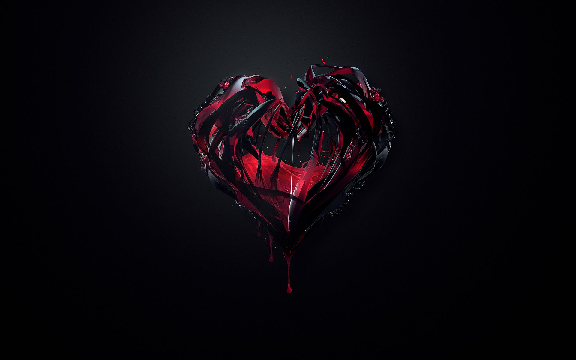 Heart Wallpapers Broken Heart Wallpaper Heart Wallpaper Black Wallpaper