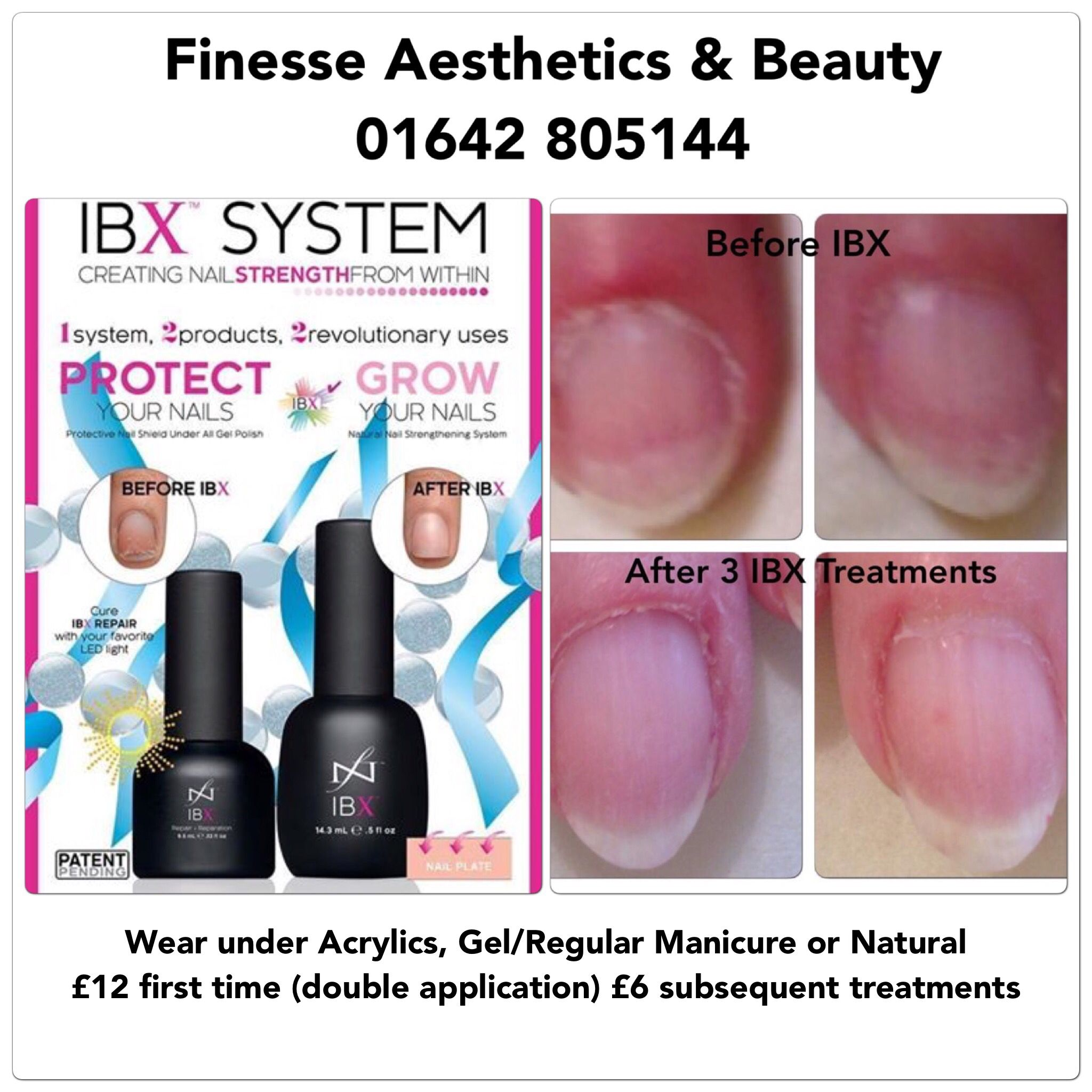IBX Intensive Nail Repair treats nails that are weak, thin, ridged ...