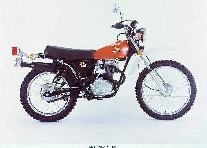 Honda Xl125s Honda Honda Dirt Bike Vintage Bikes