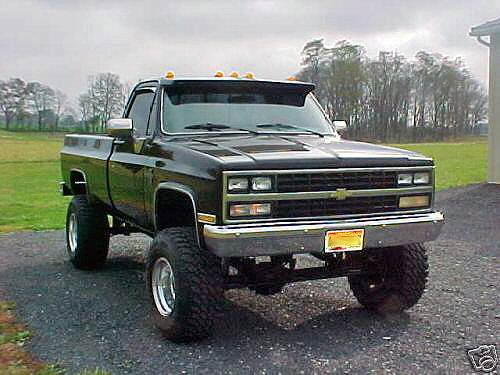 Chevrolet Silverado Blazer K5 With Images Chevy Trucks Lifted