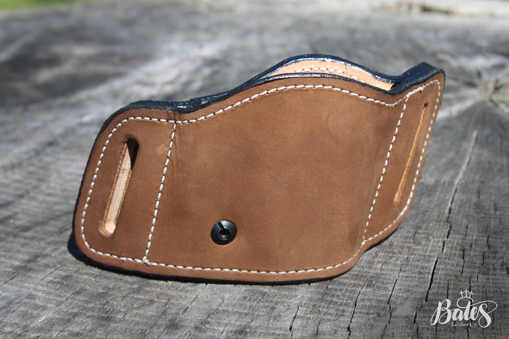 Take a look at our Glock 19 side holster! You can buy yours at https://www.batesleatherco.com/product-page/side-holster