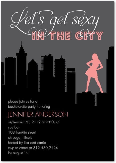 Sex and the city party chicago