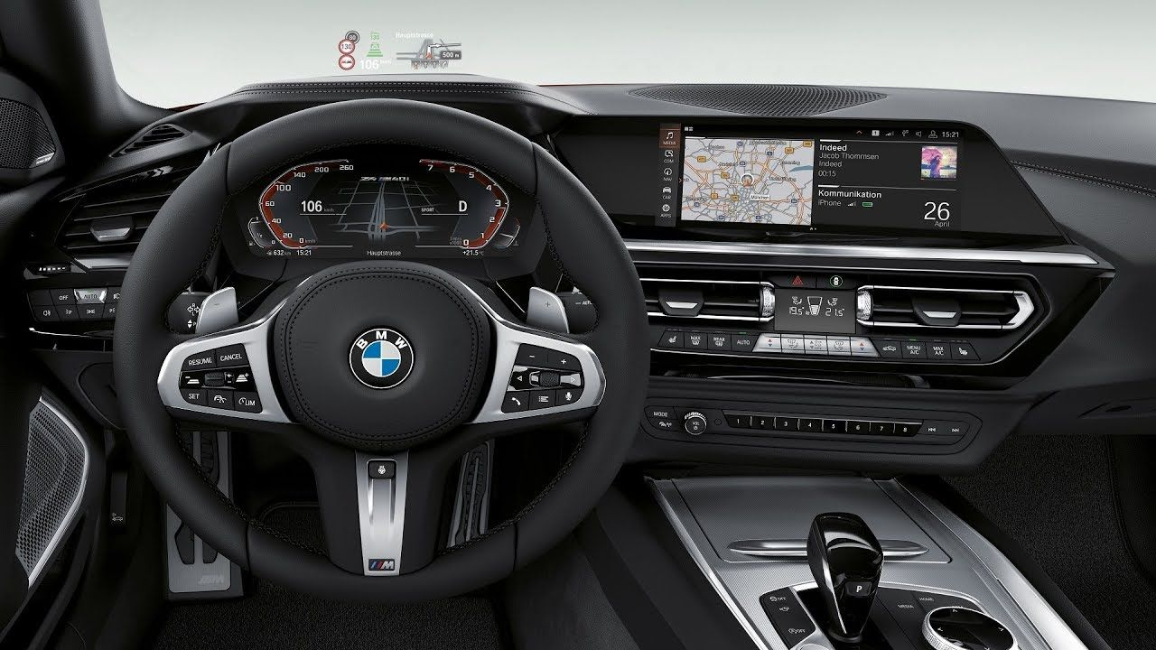 Bmw G29 Z4 M40i Roadster Interior Design Bmw G29 Z4 M40i