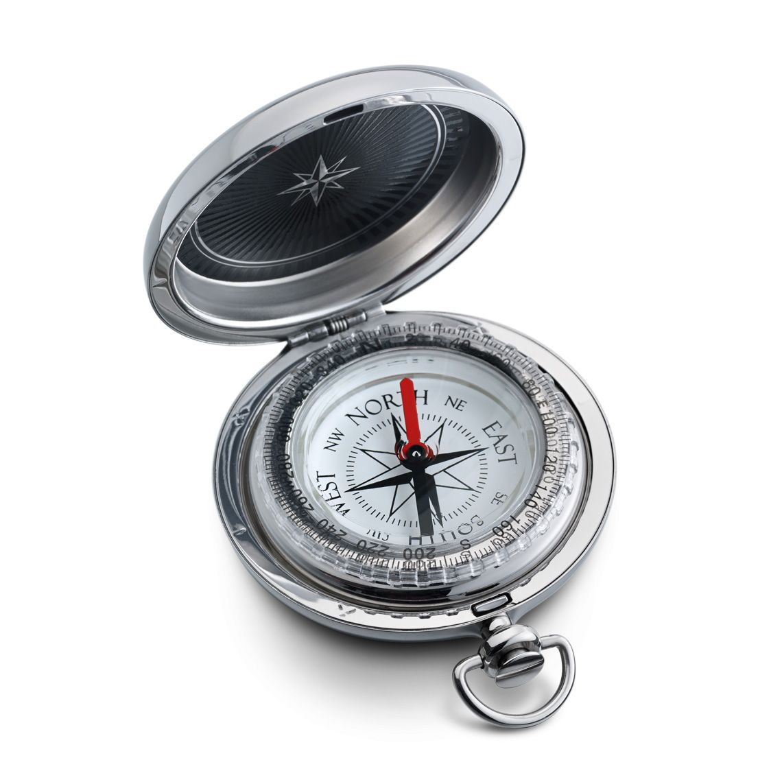 Dalvey Silver Pocket Compass Special 110 Including Personal