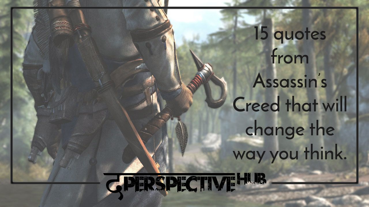 Creed Quotes Fascinating Assassin's Creed The Game Which Holds The Utmost Reputation In The . Design Decoration