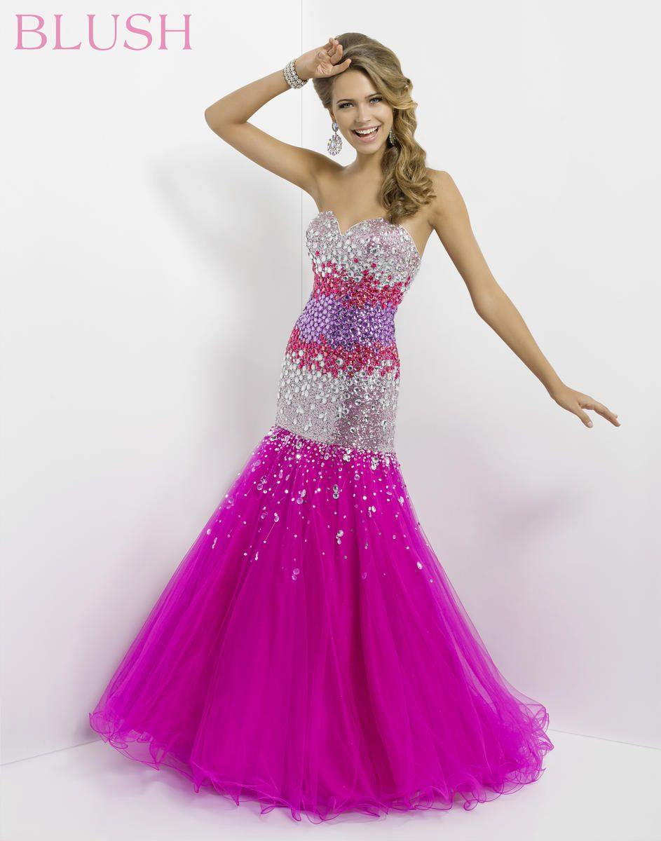 Gorgeous pink glitz dress by Blush 9786 Prom The Prom Shop - Prom ...